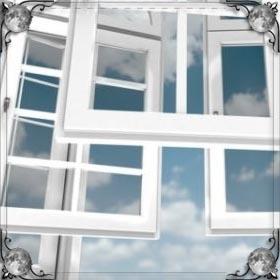 Белое окно