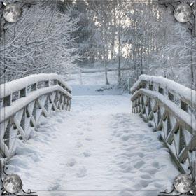 Белоснежный снег