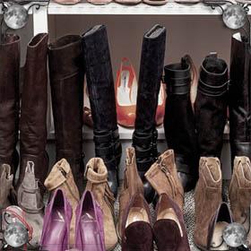 Большие ботинки