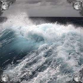 Большие волны на море