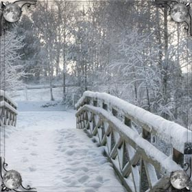 Босая на снегу