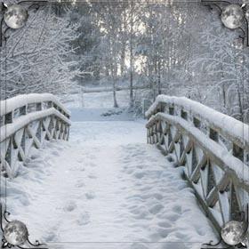 Человек в снегу