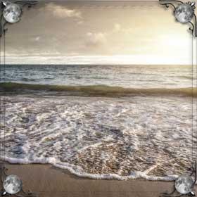 Чистое теплое море