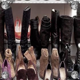 Дарят ботинки
