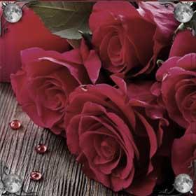 Дарят живые цветы