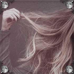 Держать волосы