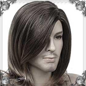 Длинные волосы у мужчины