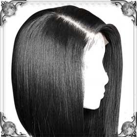Длинные волосы у себя на голове