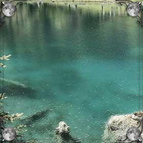 Дно озера