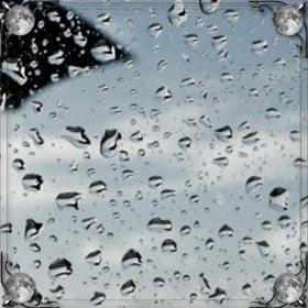 Дождь на море