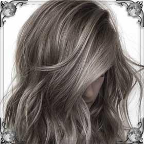 Другой цвет волос