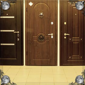 Дверь и ручка