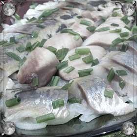 Ели рыбу