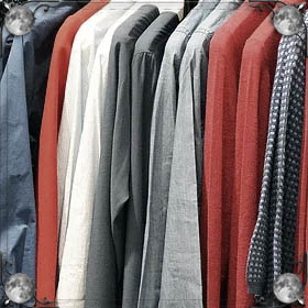 Гора одежды