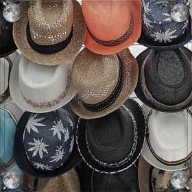 Грязная шапка