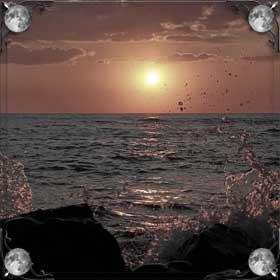 Грязное море