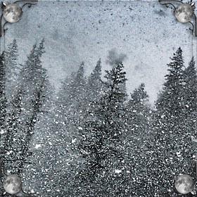 Идет снег хлопьями