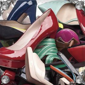 Коричневая обувь
