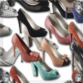 Красивые туфли на каблуках