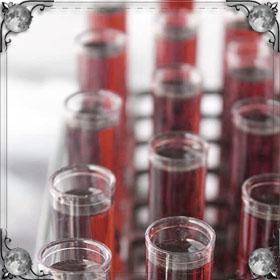 Кровь в пробирке