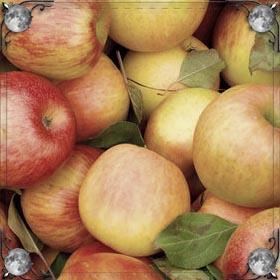 Крупные зеленые яблоки