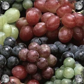 Крупный виноград