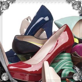 Купить много обуви