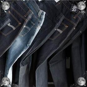 Мерить джинсы