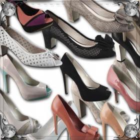 Мерить туфли на каблуках