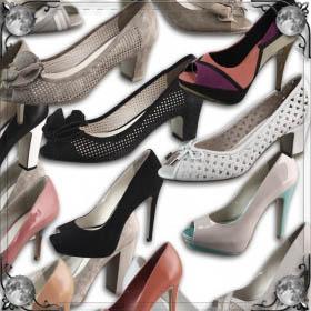 Мерить туфли в магазине