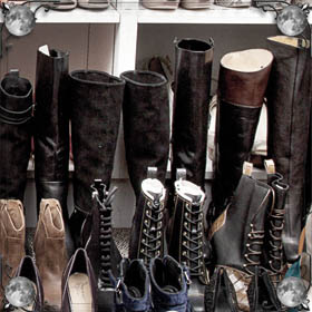 Мыть ботинки