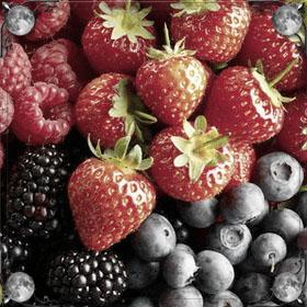Много разных ягод