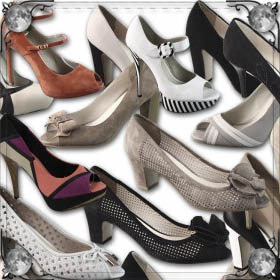 Много туфлей