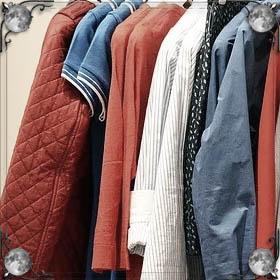 Много верхней одежды