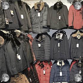 Молния куртки
