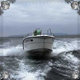 Море и катер