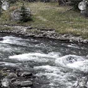 Мутная река