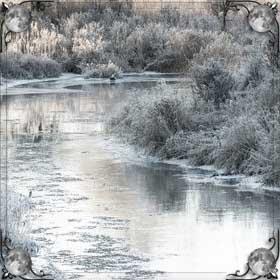 Мутная вода в реке