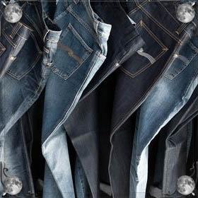 Надевать джинсы