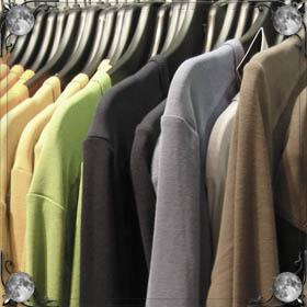 Намочить одежду