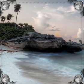 Обрыв над морем