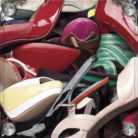 Обувь на другом человеке