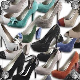Обувь в руках
