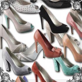 Одеть новые туфли