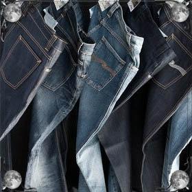 Одевать джинсы
