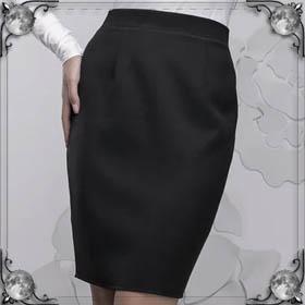 Одевать юбку