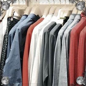 Одежда одета наизнанку