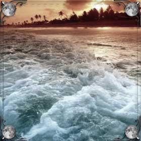 Океан с островом
