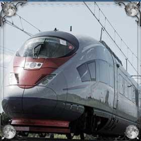 Остановить поезд
