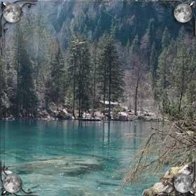 Озеро дома